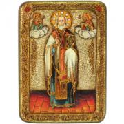 Икона ручной работы Николай Чудотворец