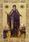 Рукописная икона Давид Серпуховский