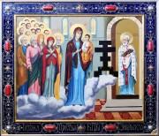 Рукописная икона Забельская
