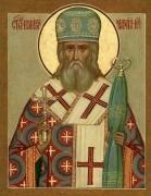 Рукописная икона Иннокентий Московский