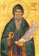 Рукописная икона Иоанн Кассиан Римлянин