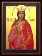 Рукописная икона Ирина Македонская Великомученица