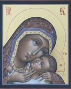 Рукописная икона Корсунская Божия Матерь