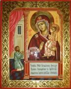 Рукописная икона Нечаянная Радость