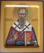 Рукописная икона Карп Апостол от 70-ти