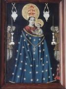 Рукописная икона Лорецкая (Лоретская)