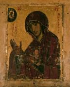 Рукописная икона Божией Матери Махерская Ножевая