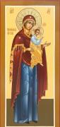 Рукописная икона Божией Матери Моденская Косинская