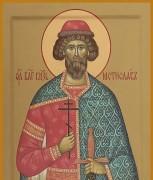 Рукописная икона Мстислав Новгородский