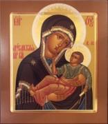 Рукописная икона Божией Матери Муромская