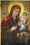 Рукописная икона Божией Матери Нанковская