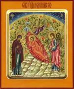 Рукописная икона Недреманое Око