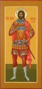 Рукописная икона Никита Воин