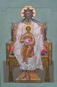 Рукописная икона Отечество
