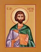 Рукописная икона Платон Анкирский