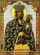 Рукописная икона Подольская