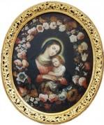 Рукописная икона Пожайская