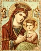 Рукописная икона Сайданайская