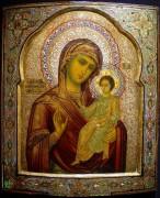 Рукописная икона Седмиезерная