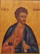 Рукописная икона Сила Апостол
