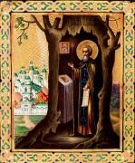 Рукописная икона Тихон Калужский