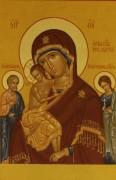 Рукописная икона Трех Радостей