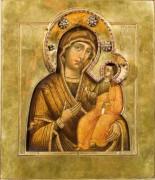 Рукописная икона Феодотьевская