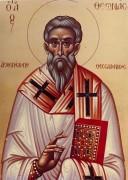 Рукописная икона Феона Солунский