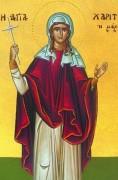 Рукописная икона Харитина
