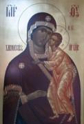 Рукописная икона Хлыновская