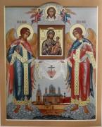 Рукописная икона Якобштадская