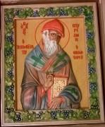 Резная икона Спиридон Тримифунтский
