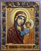 Резная Казанская икона 3