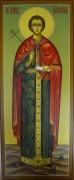 Рукописная икона Вонифатий