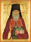 Рукописная икона Моисей Оптинский