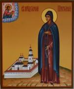Рукописная икона Сергий Шухтомский