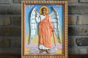Резная икона Ангел Хранитель 9
