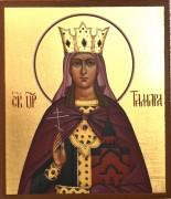 Рукописная икона Тамара царица Грузинская