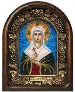 Икона бисером Ангелина