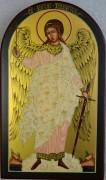 Рукописная икона Святой Ангел Хранитель