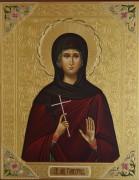 Рукописная икона Гликерия Лукерия (Лукерья) Ираклийская