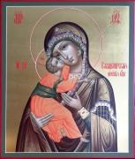 Рукописная Владимирская икона Пресвятой Богородицы