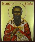 Рукописная икона Кирилл Гортинский