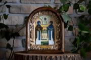 Икона из бисера Петр и Феврония