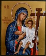 Рукописная икона Божией Матери Новоникитская