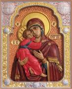 Резная Владимирская икона Богородицы