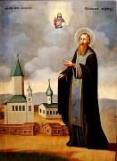 Рукописная икона Александр Куштский