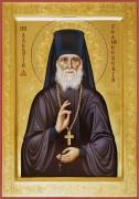 Рукописная икона Алексий (Алексей) Голосеевский