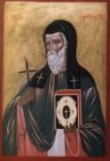 Рукописная икона Ангеляр Охридский