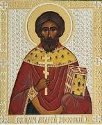 Рукописная икона Андрей Ефесский